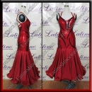 BALLROOM COMPETITION DRESS LDW (AS34)