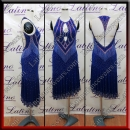LATIN SALSA COMPETITION DRESS LDW (VL722A)