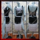 LATIN SALSA COMPETITION DRESS LDW SIZE M (LS335)