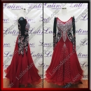 BALLROOM COMPETITION DRESS LDW (ST1024)