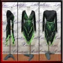 LATIN SALSA COMPETITION DRESS LDW (LT1461)