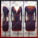 LATIN SALSA COMPETITION DRESS LDW (LT3077)