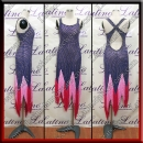 LATIN SALSA COMPETITION DRESS LDW (LT3078)