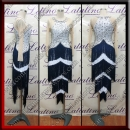 LATIN SALSA COMPETITION DRESS LDW (LT3079)