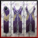 LATIN SALSA COMPETITION DRESS LDW (LT3080)