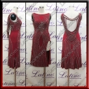 LATIN SALSA COMPETITION DRESS LDW (LT3523)