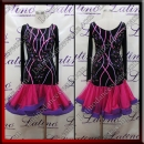 LATIN SALSA COMPETITION DRESS LDW (LT1517)