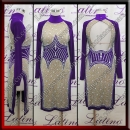 LATIN SALSA COMPETITION DRESS LDW (LT3097)