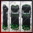 LATIN SALSA COMPETITION DRESS LDW (LT3541)