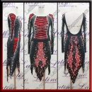 LATIN SALSA COMPETITION DRESS LDW (VL747)