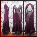 BALLROOM COMPETITION DRESS LDW (ST1044)