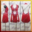 LATIN SALSA COMPETITION DRESS LDW (LT3106)
